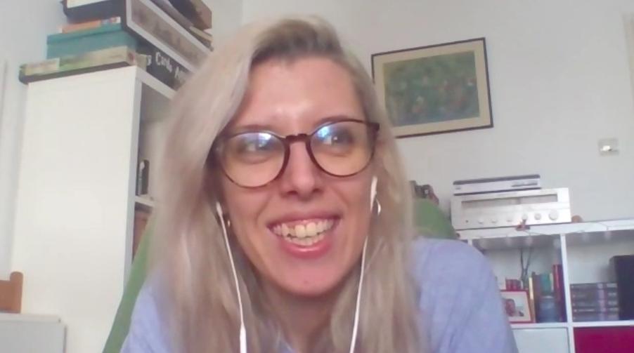 Rucsa Ganciu telling about the mastermind